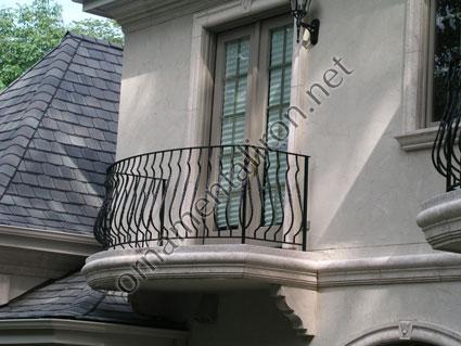Exterior Work Balcony Rails